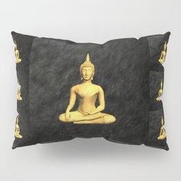 Golden Buddh Pillow Sham
