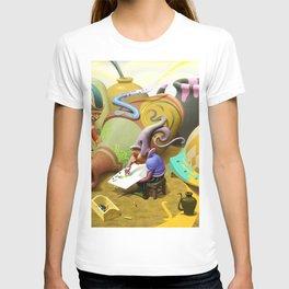 Jug painters T-shirt