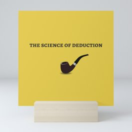 The Sherlock Holmes Quote I Mini Art Print