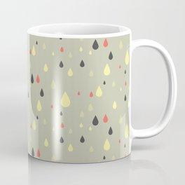 retro raindrops Coffee Mug