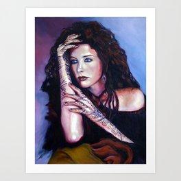 """""""Girl' Art Print"""