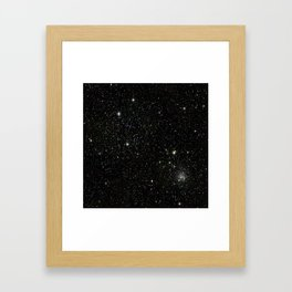 Space - Stars - Starry Night - Black - Universe - Deep Space Framed Art Print