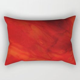 Red glass Rectangular Pillow