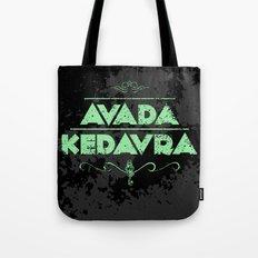 Harry Potter Curses: Avada Kedavra Tote Bag