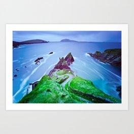 Dingle Marina Great Blasket Ireland Art Print