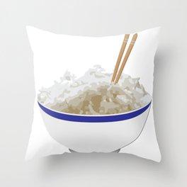 Ricer Throw Pillow