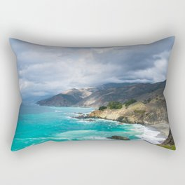 Parting Clouds in Big Sur Rectangular Pillow