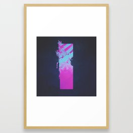 DAY 148: RIGHT KIDNEY Framed Art Print