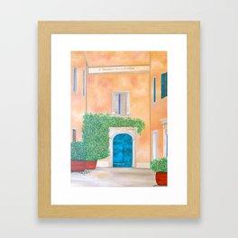 Summer in Rome Framed Art Print