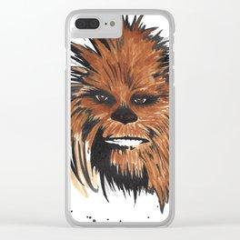 Chewbacca Clear iPhone Case