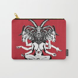 Woman is a Devil Carry-All Pouch