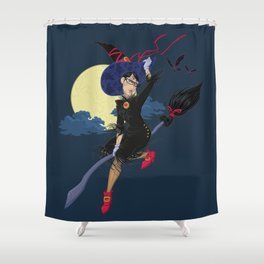 Speltöser - Bayonetta Shower Curtain
