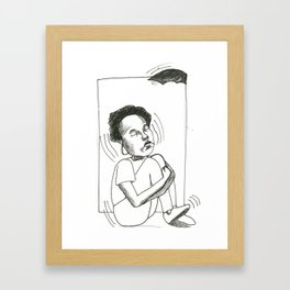 After Bat Framed Art Print