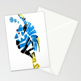 """just keep swimming"" (Finding Nemo- Dory) Stationery Cards"