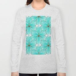 Flower Sketch 2 Long Sleeve T-shirt