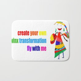 fly with me... Bath Mat