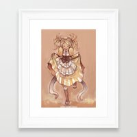 fire emblem awakening Framed Art Prints featuring Strangeness and Charm (Lissa, Fire Emblem Awakening) by Lunaros
