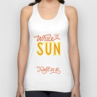 sunshine Tank Tops featuring Sunshine by Wharton