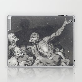 When the day comes, we are gone - Francisco de Goya (1797) Laptop & iPad Skin
