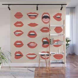Lips III Wall Mural