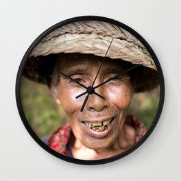 Balinese Local II Wall Clock