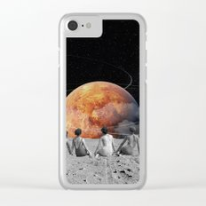 Venus Beach Clear iPhone Case