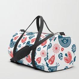 Hygge Pattern Duffle Bag