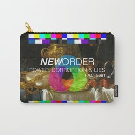 Power, Corruption & Lies Carry-All Pouch