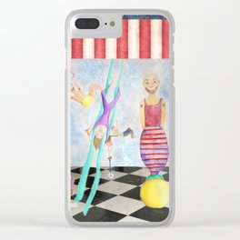 circus Clear iPhone Case