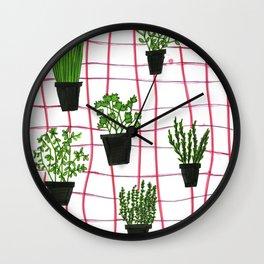 herbal Wall Clock