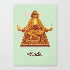 The Lebowski Series: The Dude Canvas Print