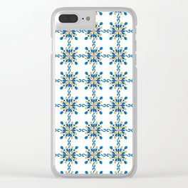 Pattern #38 Clear iPhone Case