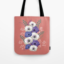 Anemones collection: bouquet II Tote Bag