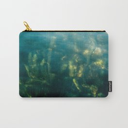 Fresh water seeweed, algae in lake Iseo, Italy Carry-All Pouch
