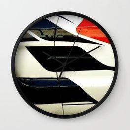 Car Door Geometric Abstract Wall Clock