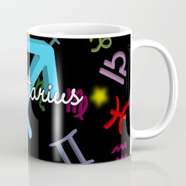Sagittarius Floating Zodiac Coffee Mug