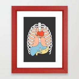 Hugs Keep Us Alive 2 Framed Art Print