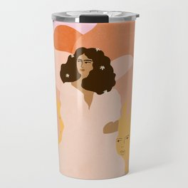 Don't look back in sadness Travel Mug