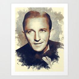 Bing Crosby, Hollywood Legend Art Print
