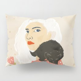 Pussy Cat Pillow Sham
