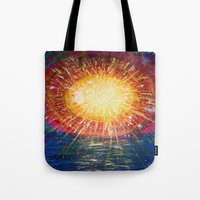 kindle Tote Bags featuring :: OneSun :: by :: GaleStorm Artworks ::