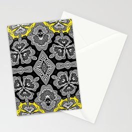 Afro Caribbean Inspired Neo Tribal Boho Print Stationery Cards