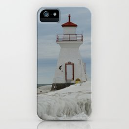 Frozen Lighthouse iPhone Case