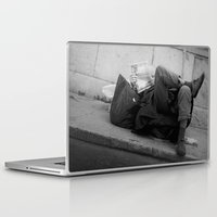 chill Laptop & iPad Skins featuring chill by dominiknawrocki