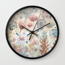 jardin 2 Wall Clock