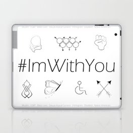 I'm With You Laptop & iPad Skin