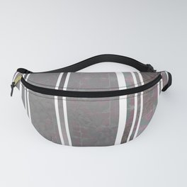 Vertical poppies S14 Fanny Pack