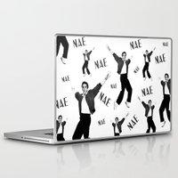 elvis presley Laptop & iPad Skins featuring Elvis Presley NaeNae by Far-Real