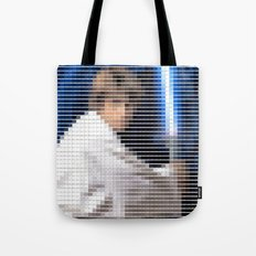 Luke Skywalker - StarWars - Pantone Swatch Art Tote Bag