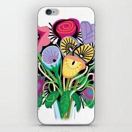 Animal Flowers iPhone Skin